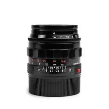 Leica 50mm F1.4 SUMMILUX-M Leitz Black Re-Paint #175...