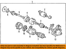 HONDA OEM 06-11 Civic Starter-Pinion Gear 31214P3F003