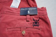 Ralph Lauren Polo Red Stone Wash Casual Chino Pants. Men's 33X30 NWT, MSRP $70