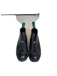Solovair Black Monkey Boots Size 6
