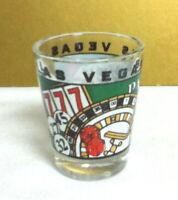 Las Vegas Nevada gambling casino shot shooter GAMBLE glass liquor glassware BM8