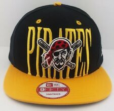 Pittsburgh Pirates New Era 9FIFTY snap-back/hat/cap/MLB/Black & Yellow