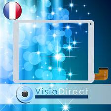 Vitre ecran tactile pour Archos 97c Platinum HXD-1098 blanc