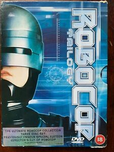 Robocop Trilogy DVD Box Set Classic Sci-Fi Movie Collection 1 2 3
