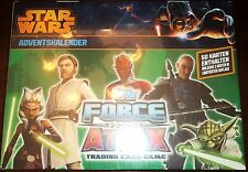 PACK of 50 KARTEN ENTHALTEN ADVENTSKALENDER 2010 TOPPS FORCE ATTAX STAR WARS