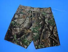 Vtg Wrangler Jean Denim Shorts Camo USA Made Realtree Hardwood Size 38