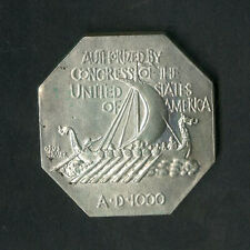 US Coin 1925 Norse American Thick Medal High Grade NO RESERVE!