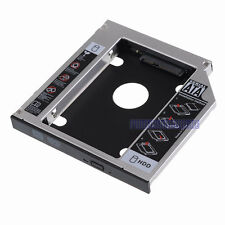 2nd SATA Hard Drive Bay Caddy 12.7MM fr Dell Asus Lenovo Thinkpad R400 R410 R500