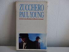 K7 Deux titres ZUCCHERO PAUL YOUNG Senza una donna 879668 4