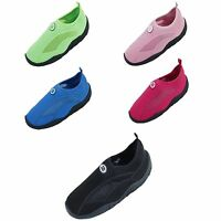 New Childrens Kids Boys Girls Slip On Water Shoes/Aqua Socks/Pool Beach,5 Colors