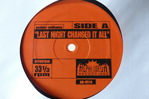 Last night changed it all / Roach Clip - Esther Williams The Soul Searchers