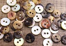 Lot 100 Real Shell Button 14L 8.8mm Natural Shirt Mother of Pearl MOP Agoya