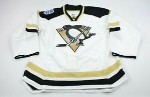 Pro Stock Team Issued Reebok 2014 Stadium Series Pittsburgh Penguins Jersey 52