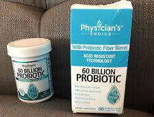 Physicians Choice 60 Billion Probiotic With Prebiotic Fiber Blend EXP 11/22