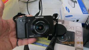 SAMSUNG EX1 CON SCHNEIDER zoom f1.8 e flash