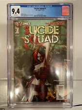 Suicide Squad #1   (New 52)  Harley Quinn Cover CGC 9.4  White Pages
