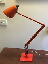 VINTAGE RETRO PLANET DESK LAMP 70 s  STUDIO MODEL K COLOR RED