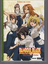 Bamboo Blade: The Complete Series(DVD, 2010, 4-Disc Set)