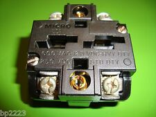 MICRO SWITCH PTCG CONTACT BLOCK PTCG FOR USE WITH PT & CMC OPERATORS, NEW