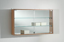 Bacheca Vetrina Vetrinetta pensile vetro da muro parete Wall Display Showcase
