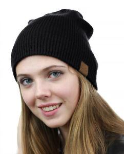 NYFASHION101 Unisex Comfort & Warm Knitted Daily CC Beanie Hat