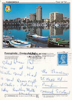 1990's FUENGIROLA SPAIN COLOUR POSTCARD POSTED IN THE UK