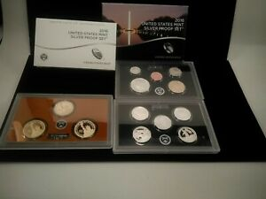 2016-S United States Mint Silver Proof Set - 13 Coin Set w/Box & COA - C38