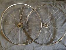 Vintage Campagnolo Record Pista HighFlange / Mavic MA2 Track/Fixed Gear Wheelset