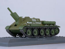SU-122  Soviet Self-propelled Howitzer 1943 Year 1/43 Scale Model Tank