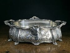 Large Christofle plated centerpiece, Rococo style, presented to Wilhelm Frick...