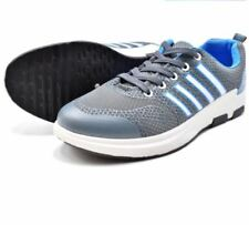 Tanggo Men's Rubber Shoes Casual Sneakers F-7088 (grey/blue) Size 44