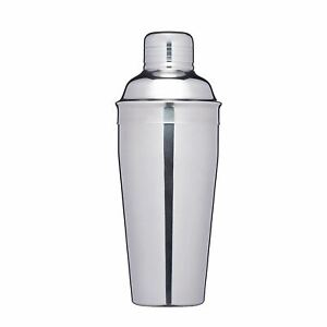 Double Walled Stainless Steel Shaker 500ml Cocktail Mixer Bar Drink Making
