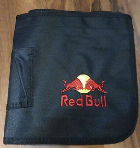 Red Bull Schürze Gastroschürze Bistro Kellnerschürze Bar Gastro Geldbeutel NEU