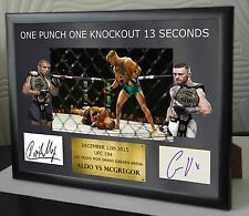 """Conor Mcgregor UFC canvas tribute signed Limited Edition """"Great Gift / Souvenir"""""""
