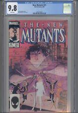 New Mutants #31 CGC 9.8 Marvel 1984 Comic: Chris Claremont Story: NEW Frame