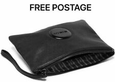 MIMCO Black Medium Pouch Loverly Leather Wallet Clutch Bag BNWT RRP $99.95 New