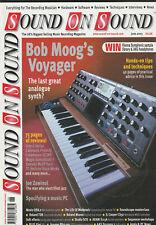 SOUND ON SOUND Magazine June 2003 - Bob Moog's Voyager