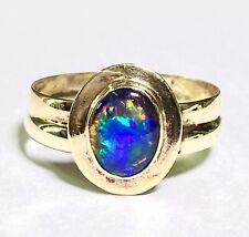 Ring 585 Gold mit Opal Triplette/ Größe 61,5/ 3,3 Gramm/ Im Top Zustand