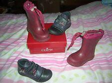lot chaussures 23 CHIPIE NEUVES CUIR fille val 75 eu + bottes étanches 1