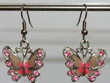 Rhinestone Animals & Insects Fashion Earrings