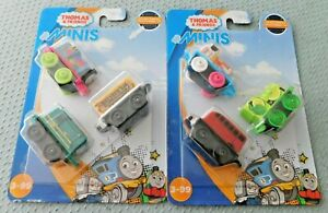 Fisher Price Thomas & Friends Minis x 2 Packs