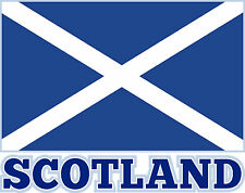 PREMIUIM Autoaufkkleber Fahne Schottland Flaggen Aufkleber Auto Motorrad Sticker