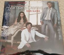 THE VAMPIRE DIARIES LOVE SUCKS 2013 OFFICIAL CALENDAR NEW AND SEALED