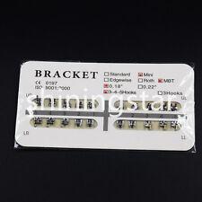 1 Pack Mini MBT Slot 0.18 3 4 5 WIth Hooks Dental Orthodontic Metal Bracket New