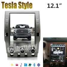 """12.1"""" Android Tesla Style Car Stereo GPS Navigation for Toyota Tundra 2014-2017"""