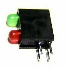 10 GREEN OVER RED S SCALE 2 POSITION DWARF BLOCK SIGNAL LEDS