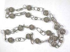 Antique Tambourin Filigree Necklace Wedding
