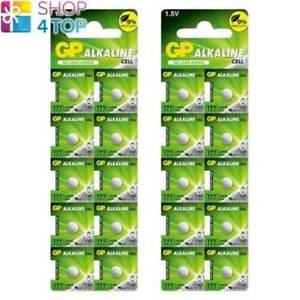 20 GP ALKALINE BATTERY 177 LR626 AG4 NO MERCURY NO LEAD ADDED 1.5V SR626 NEW