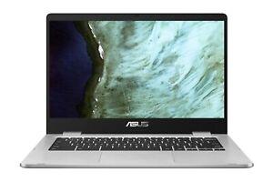 NewSealed Asus C423N Chromebook 14 Intel Celeron N3350 1.1GHz 4GB DDR4 64GB eMMC