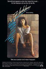 FLASHDANCE (1983) ORIGINAL MOVIE POSTER  -  ROLLED